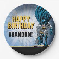 Batman Birthday Paper Plate