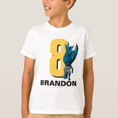 Batman Birthday T-Shirt at Zazzle