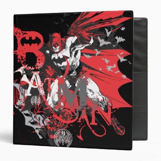 Batman Black and Gray Vinyl Binders