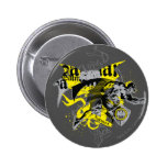 Batman Black and Yellow Collage Pin