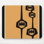 Batman Black Orange Frame Mouse Pad