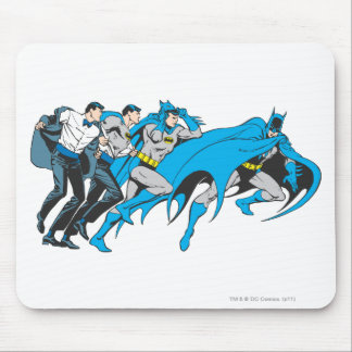 Batman/Bruce Transformation Mouse Pad