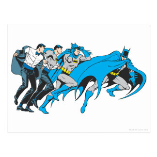 Batman/Bruce Transformation Postcard