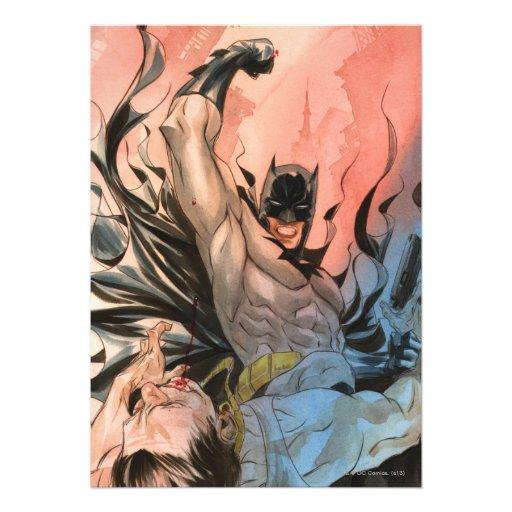 Batman - calles de la cubierta de Gotham #13 Comunicado Personal