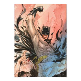 """Batman - calles de la cubierta de Gotham #13 Invitación 5"""" X 7"""""""
