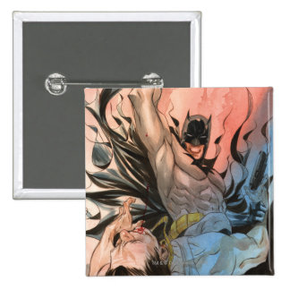 Batman - calles de la cubierta de Gotham #13 Pin Cuadrado