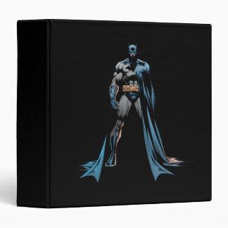 Batman cape over one side 3 ring binders
