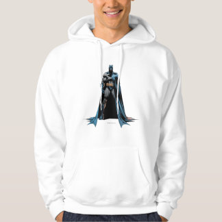 Batman cape over one side hoodie