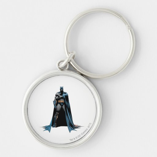 Batman cape over one side key chains