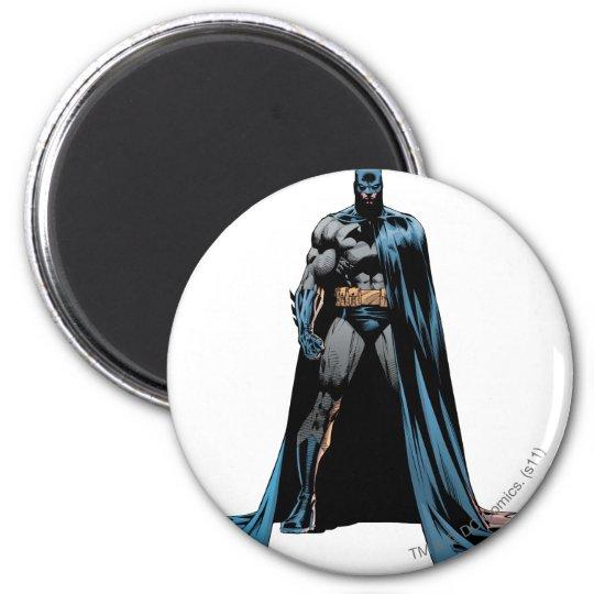 Batman cape over one side magnet