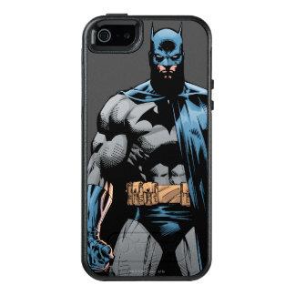 Batman cape over one side OtterBox iPhone 5/5s/SE case