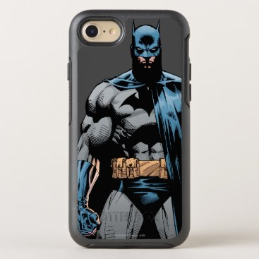 Batman cape over one side OtterBox symmetry iPhone 8/7 case