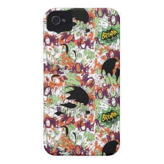 Batman Cape Pattern iPhone 4 Cover