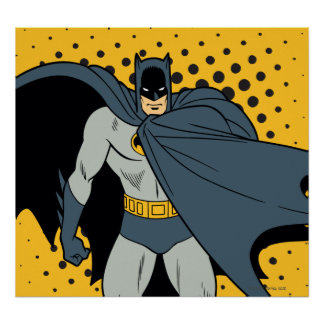 Batman Cape Poster