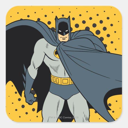 Batman Cape Square Sticker