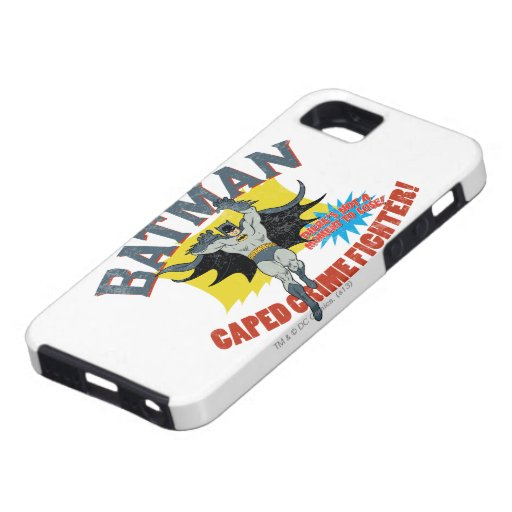 Batman Caped Crime Fighter iPhone SE/5/5s Case