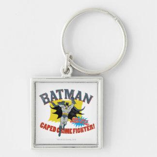Batman Caped Crime Fighter Keychain
