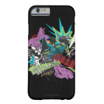 Batman Caped Crusader Neon Collage Barely There iPhone 6 Case