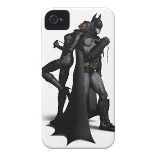 Batman & Catwoman iPhone 4 Case-Mate Case