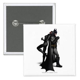 Batman & Catwoman Pinback Button
