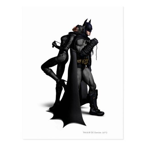 Batman & Catwoman Postcard