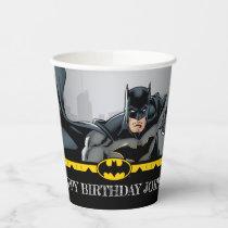 Batman   Chalkboard Happy Birthday Paper Cups