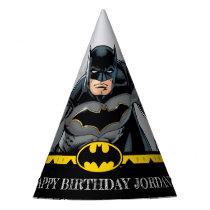 Batman   Chalkboard Happy Birthday Party Hat