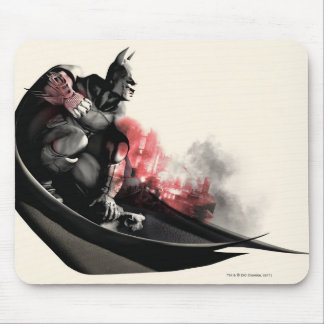 Batman City Smoke Mouse Pad