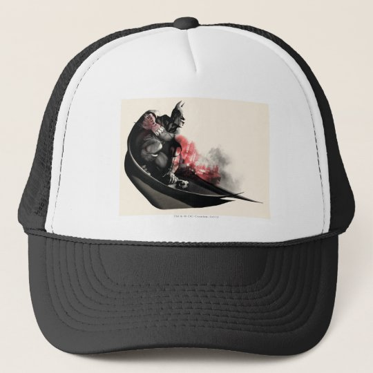 Batman City Smoke Trucker Hat
