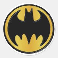 Batman Classic Logo Classic Round Sticker