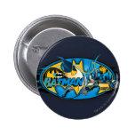Batman Classic Logo Collage Buttons