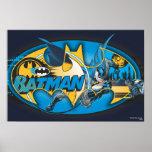 Batman Classic Logo Collage Poster