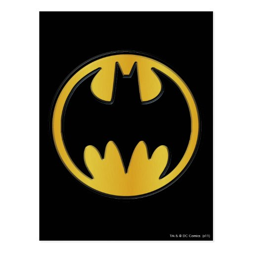 Batman Classic Logo Postcards