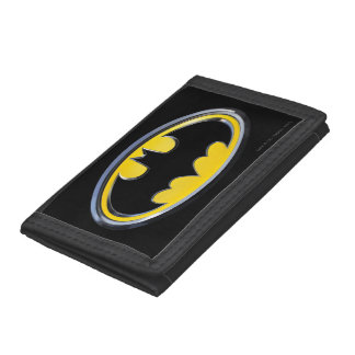 Batman Classic Logo Tri-fold Wallets