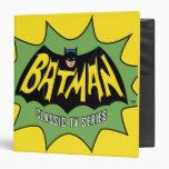 Batman Classic TV Series Logo 3 Ring Binder