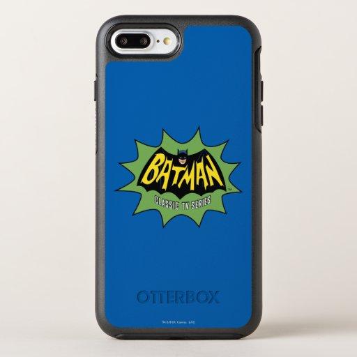 Batman Classic TV Series Logo OtterBox Symmetry iPhone 8 Plus/7 Plus Case