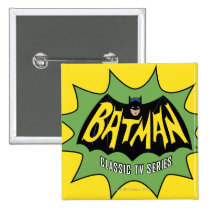 vintage, retro, batman classic tv series, batman logo, batman, bat man, 1966 batman, 60's batman, batman action callout, action words, fighting sound effect words, punching sounds, adam west, burt ward, batman tv show, batman cartoon graphics, super hero, classic tv show, Button with custom graphic design