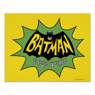 Batman Classic TV Series Logo Poster