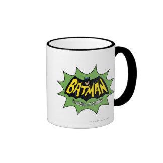Batman Classic TV Series Logo Ringer Mug