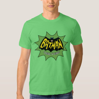 Batman Classic TV Series Logo T-shirts