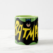vintage, retro, batman classic tv series, batman logo, batman, bat man, 1966 batman, 60's batman, batman action callout, action words, fighting sound effect words, punching sounds, adam west, burt ward, batman tv show, batman cartoon graphics, super hero, classic tv show, Mug with custom graphic design