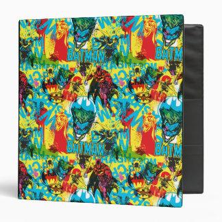 Batman Color Code Pattern 1 3 Ring Binder