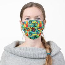Batman Color Code Pattern 1 Adult Cloth Face Mask