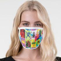 Batman Color Code Pattern 2 Face Mask