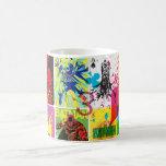 Batman Color Code Pattern 2 Classic White Coffee Mug