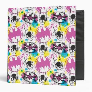 Batman Color Code Pattern 3 Binder