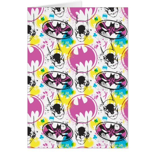 Batman Color Code Pattern 3 Card