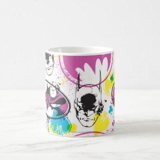 Batman Color Code Pattern 3 Classic White Coffee Mug