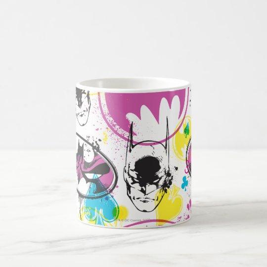 Batman Color Code Pattern 3 Coffee Mug