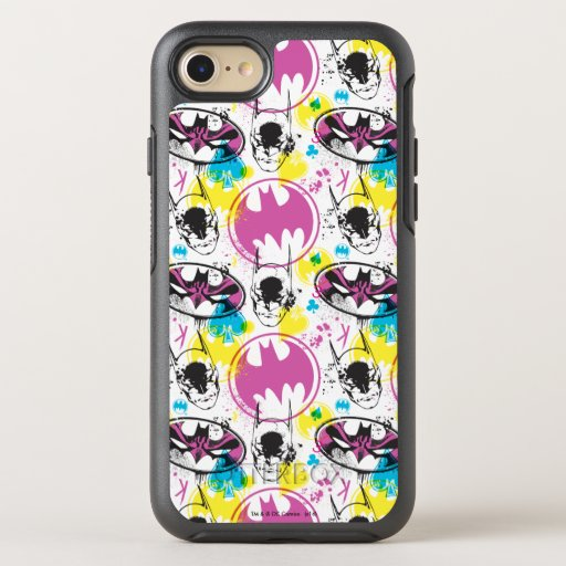 Batman Color Code Pattern 3 OtterBox Symmetry iPhone 8/7 Case